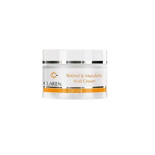 Acid line, krem z retinolem i kwasem migdałowym dla skór dojrzałych i poszarzałych, 50ml Clarena