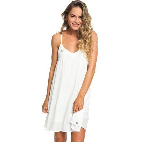 sukienka ROXY - Off We Godress Marshmallow (WBT0)
