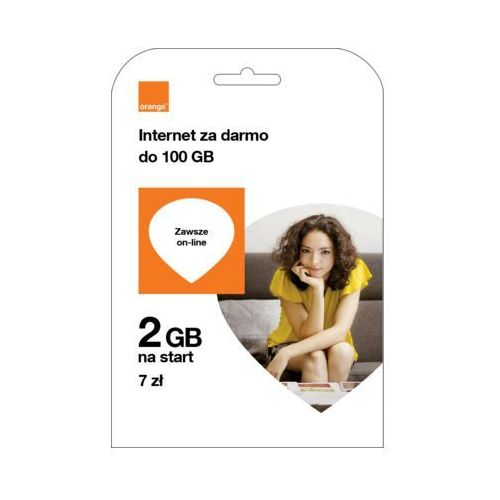 Starter ORANGE Orange Free na Kartę 2GB za 7 PLN (5907441063708)