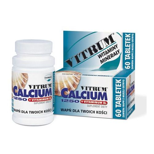 Tabletki Vitrum Calcium 1250 +vit D3 x 30tabl