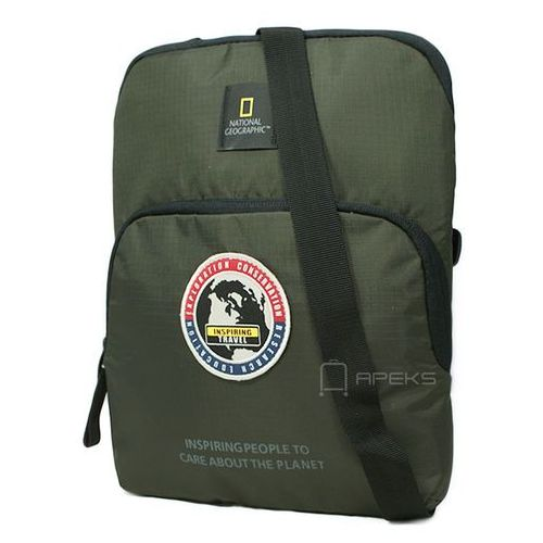 "National Geographic EXPLORER torba na ramię / saszetka / tablet do 10"" / N01112.11 - Khaki (4006268609630)"