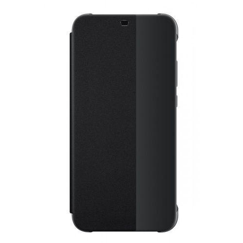 p20 lite flip cover (czarny) - produkt w magazynie - szybka wysyłka! marki Huawei