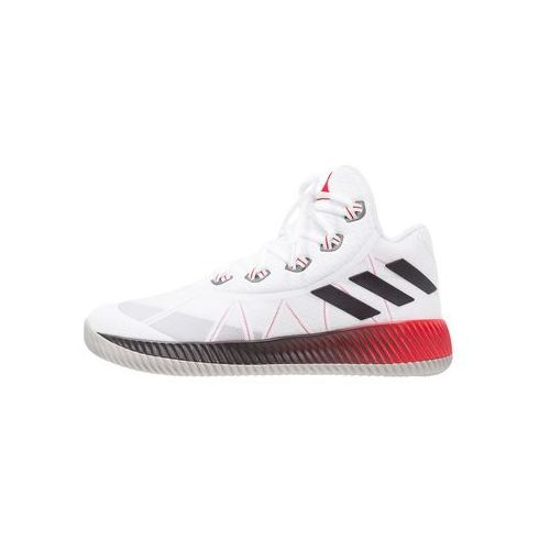 Adidas Performance LIGHT EM UP 2017 Obuwie do koszykówki white/scarlet