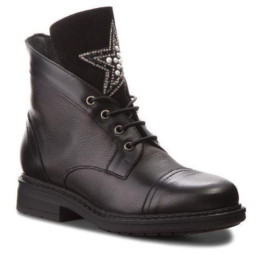 Botki LASOCKI - L293 Black, kolor czarny
