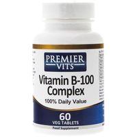 Premier Vits Vitamin B-100 Complex - 60 tabletek (0711717387246)