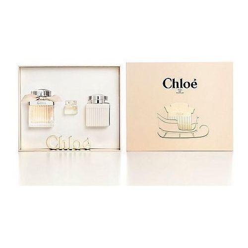 Chloe chloé, zestaw podarunkowy, woda perfumowana 75ml + balsam do ciała 100ml + woda perfumowana 5ml