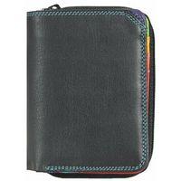 Mywalit Small Wallet Portfel skórzany 10 cm black/pace ZAPISZ SIĘ DO NASZEGO NEWSLETTERA, A OTRZYMASZ VOUCHER Z 15% ZNIŻKĄ