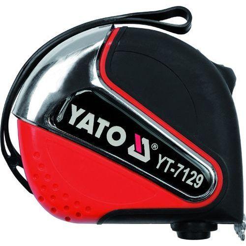 Miara zwijana 8 m x 25 mm Yato YT-7131 - ZYSKAJ RABAT 30 ZŁ, YT-7131 (2448513)