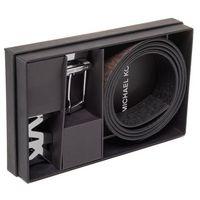 Pasek Męski MICHAEL MICHAEL KORS - 4 In 1 Belt Box Set 39H9LBLY4C Brn/Blk
