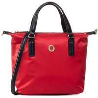 Torebka TOMMY HILFIGER - Poppy Small Tote AW0AW07954 Red