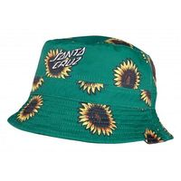 kapelusz SANTA CRUZ - Sunflowers Bucket Hat Black-Sunflower Print (BLACK-SUNFLOWER PRIN) rozmiar: OS