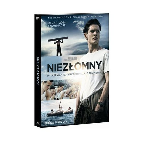 Niezłomny (DVD) - wydanie z książką - Angelina Jolie