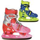Dziecięce łyżwy WORKER Kelly Różowo czerwony S 33 36  8595153642303  Dziecięce łyżwy WORKER Kelly