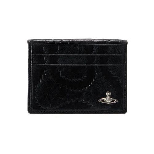 Vivienne Westwood BELFAST SMALL CARD HOLDER Etui na wizytówki black