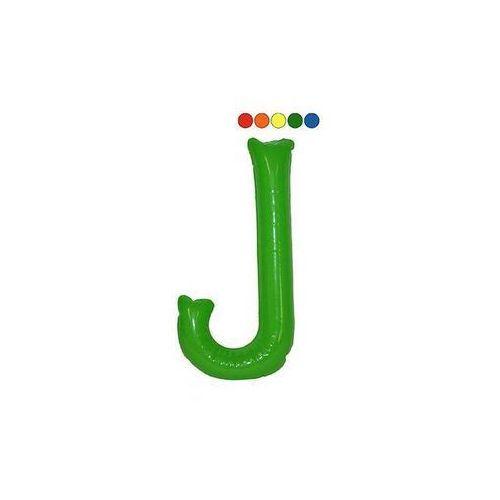Dmuchaniec litera j - 35 cm - 1 szt. marki F f