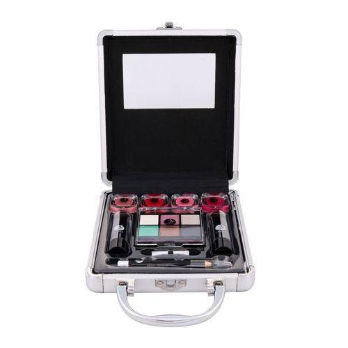 2K Beauty Basic Train Case zestaw Complete Makeup Palette dla kobiet - Ekstra upust