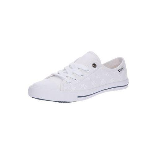 Pepe Jeans Trampki niskie 'GERY ANGY' biały, w 6 rozmiarach