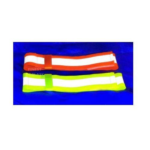 Odblaskowa opaska na rękę (fluorescencyjna, ostrzegawcza) marki Finest odblask