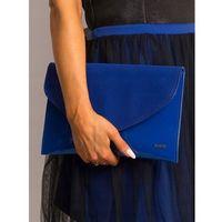 Kopertówka wizytowa lakierowana rovicky w64 niebieska