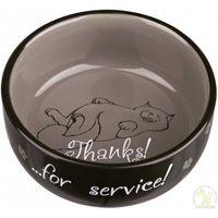 miska ceramiczna thanks for service, 0.3 l/o 11 cm - darmowa dostawa od 95 zł! marki Trixie