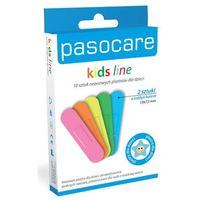 Care neon zestaw plastrów dla dzieci x 10 sztuk marki Paso