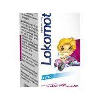 Syrop Lokomotiv, syrop dla dzieci o smaku landrynek, 130 ml