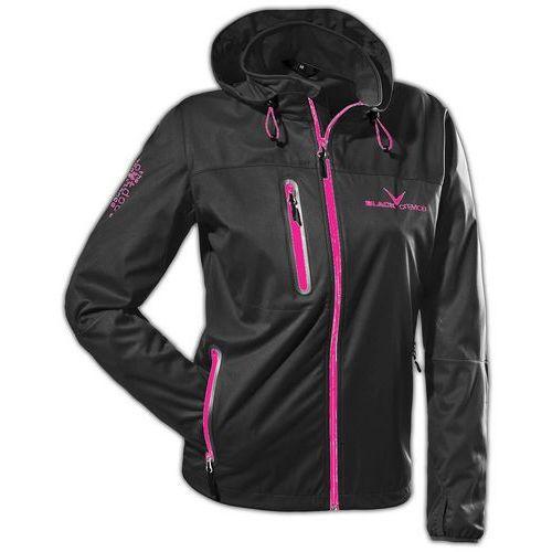 Damska kurtka softshell women black/pink rozmiar 44 marki Black crevice