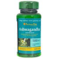 Puritan's Pride Ashwagandha Ekstrakt 500 mg - 60 kapsułek
