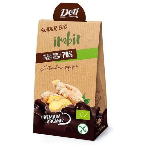 Doti Imbir w czekoladzie gorzkiej bezglutenowy bio 50 g – - Najlepsza oferta