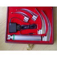Laryngoskop światłowodowy MacIntosh LUCAS-01 z ładowaniem akumulatorowym, 4 łyżki 1-4