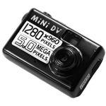 4kom.pl Kamera szpiegowska mini dv kamerka 5 mpx mpix czarna