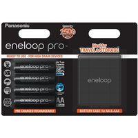 4 x akumulatorki eneloop pro r6 aa 2550mah bk-3hcdec4be (blister + box) marki Panasonic