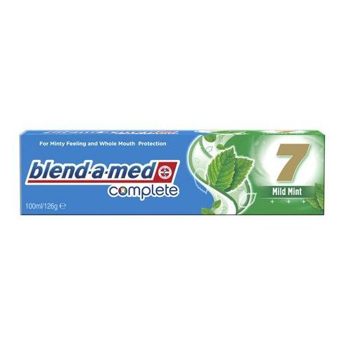 Blend-a-med Complete 7 Mild Mint pasta do zębów kompletna ochrona zębów (For Minty Feeling and Whole Mouth Protection) 100 ml