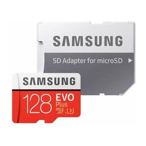Karta pamięci SAMSUNG EVO Plus 128GB MicroSD MB-MC128HA/EU + adapter (8806090168369)