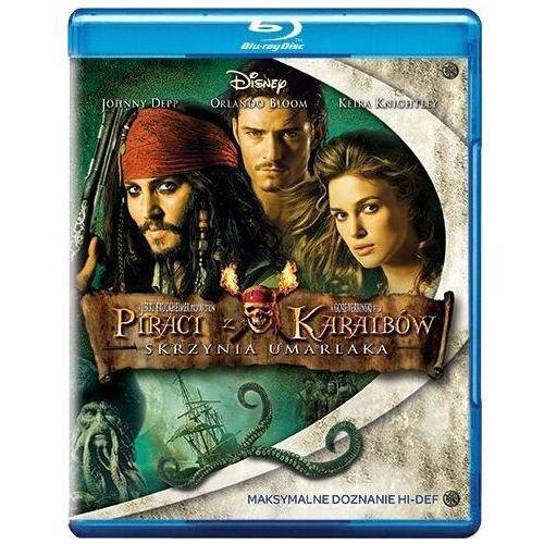 Piraci z karaibów. skrzynia umarlaka [blu-ray] marki Gore verbinski