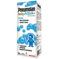 Spray Pneumolan Baby Aqua+ Isotonic spray do nosa 30ml
