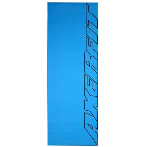 Mata do ćwiczeń 4 mm niebieski Axer fit