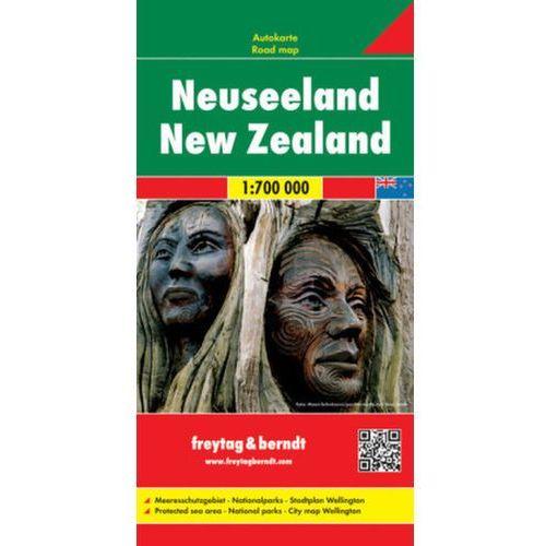 Nowa Zelandia mapa 1:700 000 Freytag & Berndt, Freytagberndt