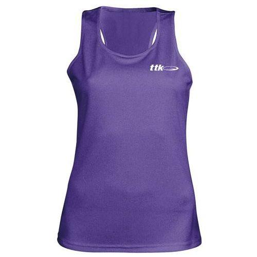 TTK TOP CAPSULE BLACK - koszulka tenisowa R. L
