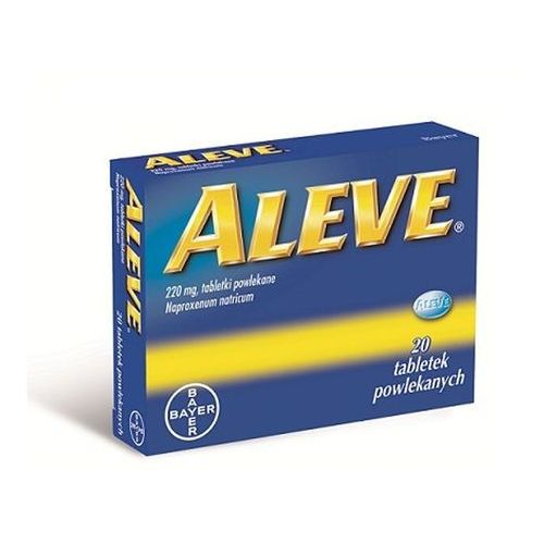 Aleve 24 tabletek powlekanych, 0,22 g