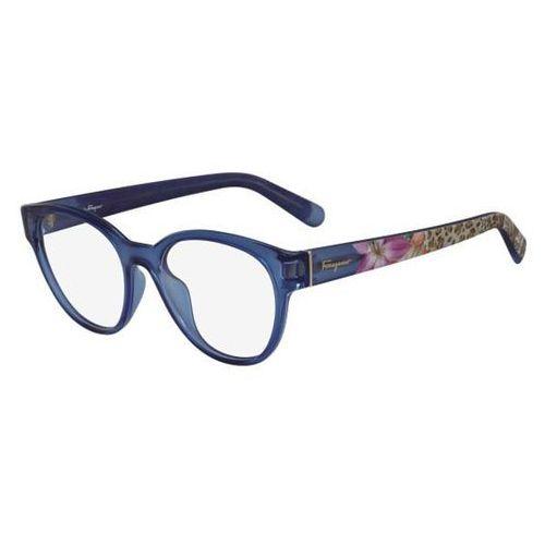 Salvatore ferragamo Okulary korekcyjne sf 2777 424