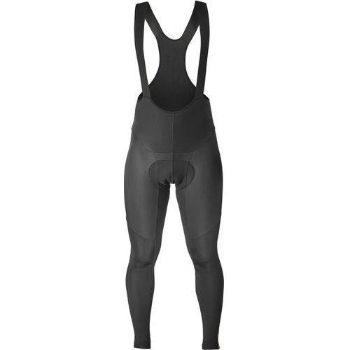 Mavic essential spodnie na szelkach mężczyźni, black m 2019 spodnie zimowe