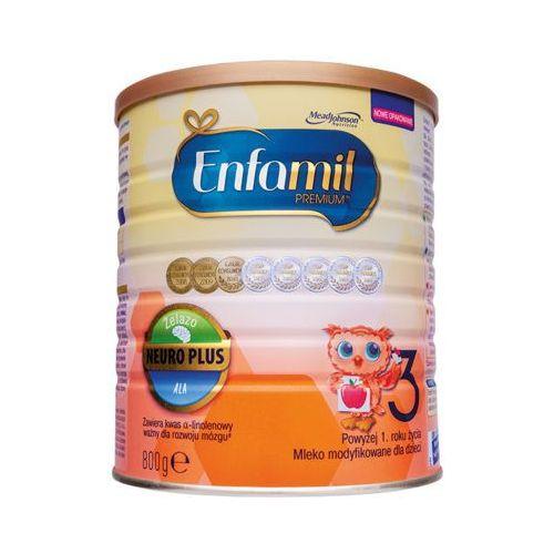 800g premium 3 mleko modyfikowane dla dzieci powyżej 1 roku życia Enfamil