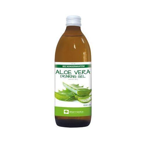 Aloe Vera Drinking Gel AlterMedica 1000 ml - problemy żołądkowo - jelitowe Kurier: 13.75, odbiór osobisty: GRATIS!