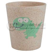 Jack n'jill Jack-n-jill dino - biodegradowalny kubeczek na szczoteczki