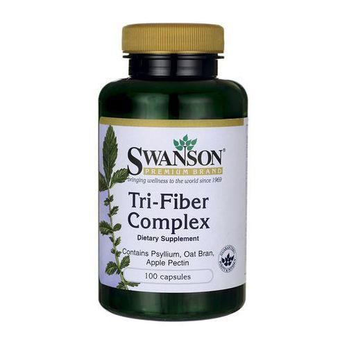 Kapsułki Swanson Tri-fiber Complex (3 naturalne błonniki) 100 kaps