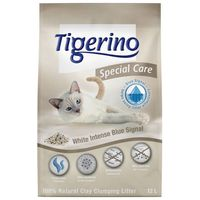 Tigerino special care żwirek dla kota - white intense blue signal - 2 x 12 l