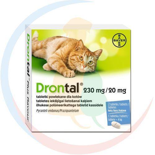 Drontal tabletki odrobaczające dla kota: opakowanie - 1 sztuka marki Bayer