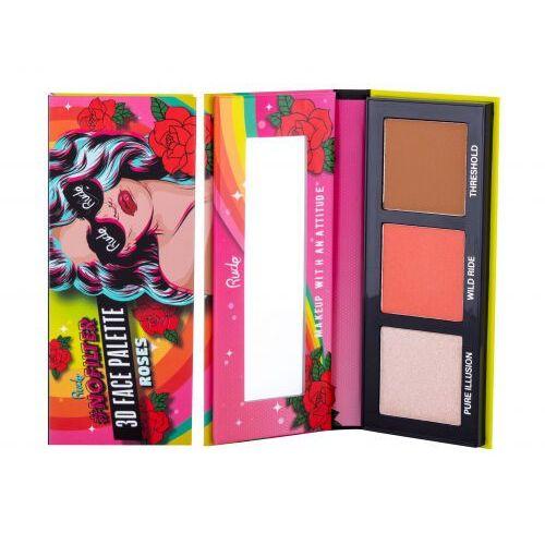 Rude cosmetics nofilter 3d zestaw kosmetyków 9,9 g dla kobiet roses - Znakomita obniżka
