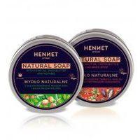 Zestaw dwóch naturalnych mydeł ręcznie robionych HENNET